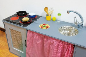 Cozinha retocada