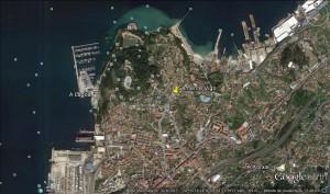 Semente Vigo desde Google Earth